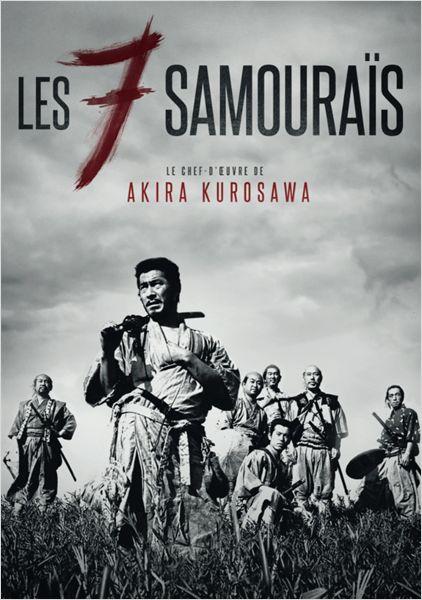 Les 7 Samourais - affiche