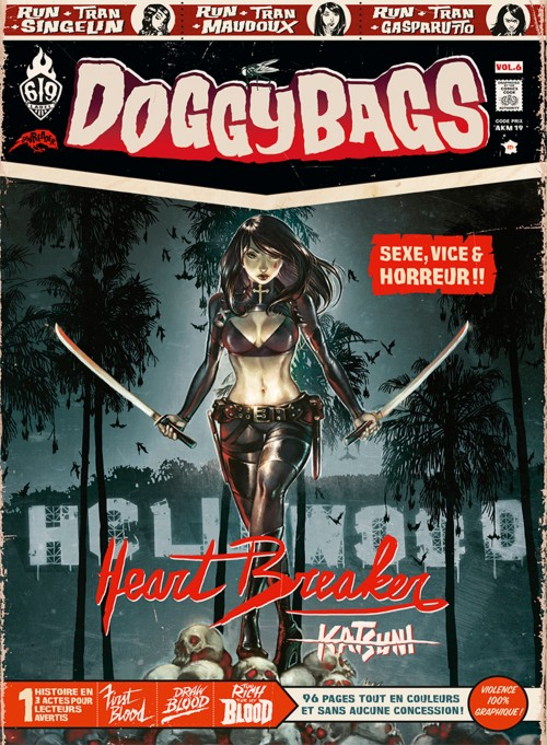 BD - DoggyBags - tome 6-Heartbreaker