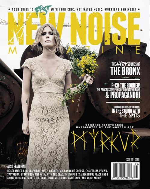 Myrkur - 2017-NewNoiseMagazine-Issue35