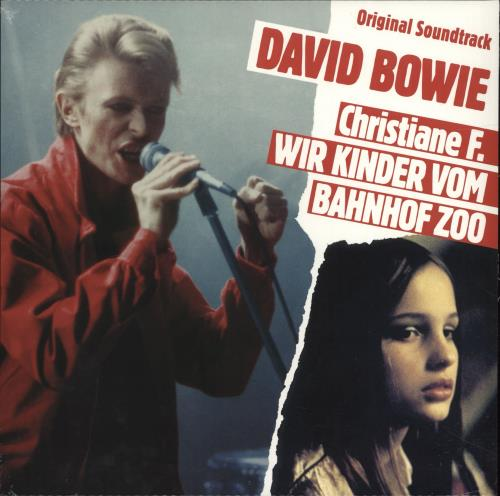 David Bowie - Christiane F.-LP-a