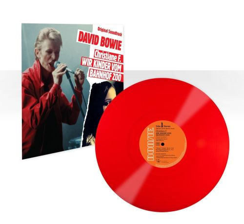 David Bowie - Christiane F.-LP-red