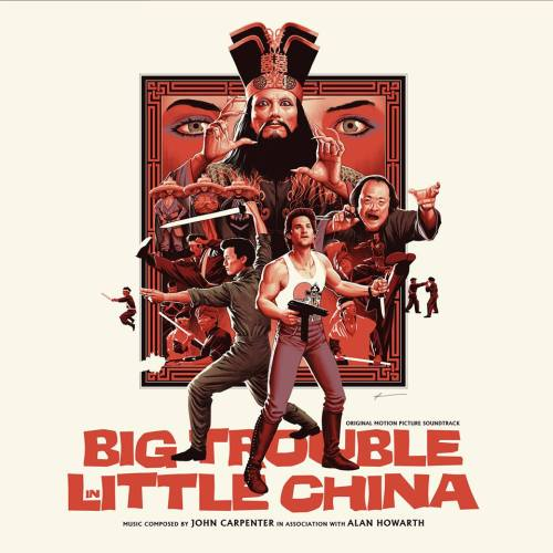 John Carpenter - Big Trouble in little china-LP-a